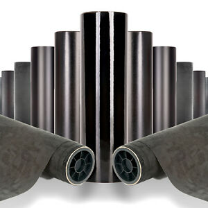 3D 4D Carbon Fibre Vehicle Wrap Super Gloss - Air Free Vinyl