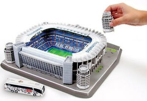 REAL MADRID Stadium 3D Puzzle Football Soccer Game Toy mens boys gift