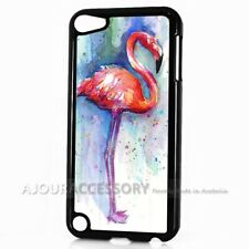 ( For iPod Touch 6 ) Back Case Cover AJH11774 Flamingo