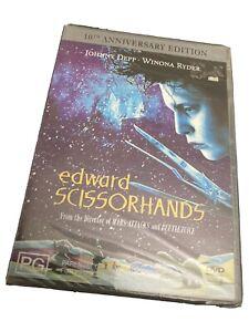 Edward Scissorhands - 10th Anniversary Edition (DVD, 1990) Region 4 New Sealed