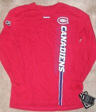 NEW NHL Montreal Canadiens Long Sleeve L/S T Shirt Youth Boys XL 18 20 NEW NWT