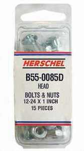 """B55-0085D (15) Haybine Conditioner Sickle Bar Knife Section 1"""" Section Bolts"""