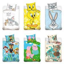 Babybettwäsche Disney Ice Age Tom Jerry Bugs Bunny Tweety Peppa Pig Paw Patrol
