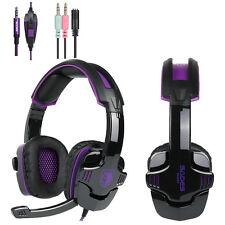 Sades SA930 Stereo Surround Pro Hifi Gaming Headset Headphone Fr PS4 PC Xbox one