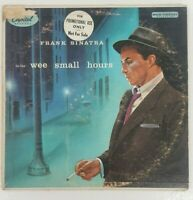 Frank Sinatra - In The Wee Small Hours Vinyl LP RARE PROMO ALBUM Collectible