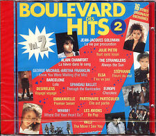 BOULEVARD DES HITS VOLUME 2 - COMPILATION CD 1987 FRANCE NEUF SOUS CELLO