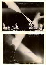 1940 US 3rd Army War Games 3 in. Anti-Aircraft Artillery Gun Night Firing Photos