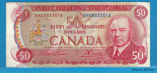 1975 $50 Bank Of Canada Lawson/ Bouey Musical Ride R.C.M.P EHD4032016 Circulated