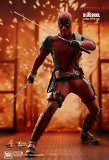 Hot Toys MMS 490 Deadpool 2 Ryan Reynolds Wade Wilson 12 inch Action Figure NEW