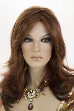 Jon Renau Mono Top Red Brown / Lt Red Gold Blonde Blend Medium Lace Front Wigs