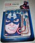 Marvel Captain America Noise Isolating Earphones Avengers Initiative Xmas Gift