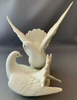 Lladro Large Pair of Doves / Lovebirds Figure.Number 6291.