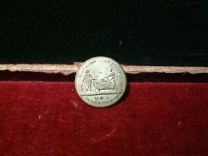 1830 King William IIII Coronation brass token / Medal