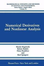 Numerical Derivatives and Nonlinear Analysis (Mathematical Concepts and Method..