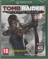 Tomb Raider Definitive Edition Xbox One Brand New Factory Sealed