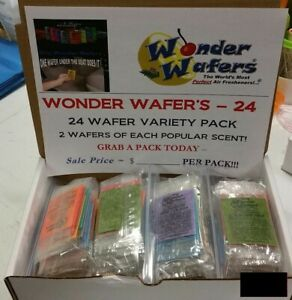8 Packs of 24 - Wonder Wafer's Variety Pack for Retail/Resale - Wholesale Lot