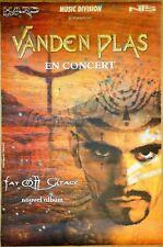 affiche poster VANDEN PLAS en concert - 75 x 120 cm