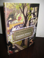 1st/1st Printing LONDON SCENE Virginia Woolf SIX ESSAYS Francine Prose CLASSIC
