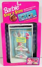 Barbie Snap 'n Store Quilted Doll Case Accessory - Hanger Closet