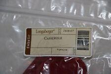 Longaberger - Casserole Liner - Paprika #2806427 New