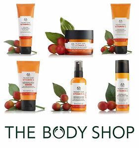 The Body Shop Vitamin C Full Range - moisturiser, glow, polish, cream