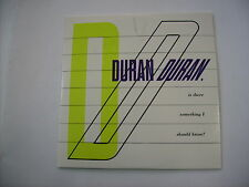 DURAN DURAN - IS THERE SOMETHING I SHOULD KNOW? - CD SINGLE CARDSLEEVE NEW