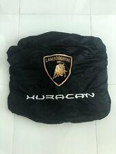 GENUINE OEM Lamborghini Huracan Car Cover with Duffel Bag, White Stitching