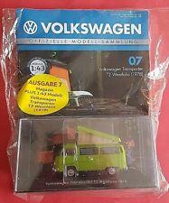 Volkswagen Modellsammlung Nr.7 Transporter T2 Westfalia 1978 1:43 DeAgostini OVP