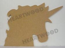 UNICORN HEAD IN MDF/190mm x 6mm/WOODEN SHAPE