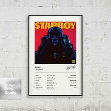 W393 24x36 14x21 40 Poster The Weeknd Starboy Kiss Land Art Hot