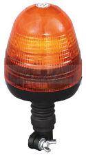 12V / 24V FLEXI DIN SPIGOT POLE MOUNT LED FLASHING AMBER / ORANGE WARNING BEACON