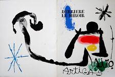 Lithographie originale - Joan MIRO 1963
