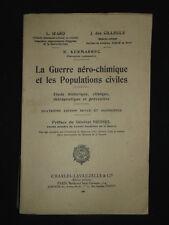 Guerre aéro-chimique et Populations civiles-  Izard, Cilleuls,  Kermarrec 1937