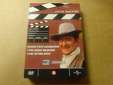 3-DVD BOX / JOHN WAYNE WESTERN BOX