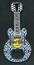 Hard Rock Cafe LISBON Bottle Opener Guitar Magnet. RARE (B.O.*)