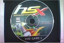 Hypersonic Extreme (HSX) PS2 DVD
