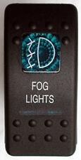 FOG LIGHT BLUE ROCKER SWITCH LED 4 ARB WARN GQ HILUX NISSAN JEEP TOYOTA 4X4 4WD