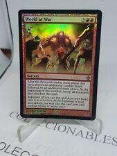 ERROR -World at War FOIL Rise of the Eldrazi NM Red Rare MAGIC MTG CARD