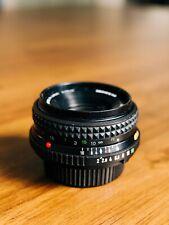 MINOLTA MD ROKKOR-X 45mm 1:2 Pancake Lens, Scratch free, No defects e-mount