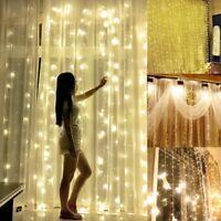 2/4/5/10m LED Christmas xmas String Fairy Wedding Curtain Light Party Decor L