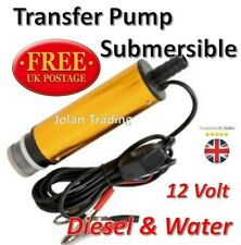 12V Diesel Fuel Fluid Water Electric Submersible Transfer Pump Filtered 5262