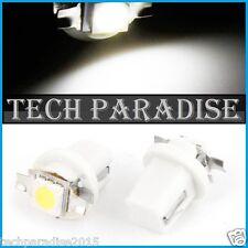 1x Ampoule B8.5D BX8.5D BAX10D ( T5 sur culot ) LED SMD Blanc White Neo Wedge