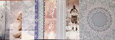 Craft papel del forro 6 X 6 paquete de muestra Invierno Querubines 1 Hoja De Cada Diseño
