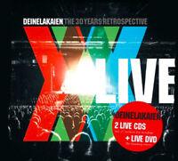 DEINE LAKAIEN - The 30 Years Retrospective Live - 2CD+DVD - 4046661599879