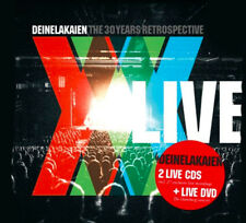 DEINE LAKAIEN - The 30 Years Retrospective Live - 2CD+DVD - 4046661599879