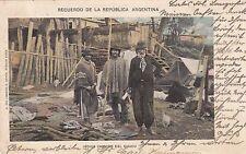 Recuerdo de la Republica Argentina RPPC 1901 Indios Chinipis del Chaco 1702016