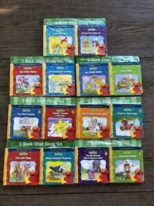 Sesame Street Read Along with Elmo Books