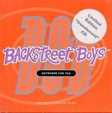 ★☆★ CD SINGLE BACKSTREET BOYS Anywhere For You - Limited edition translucent ★☆★