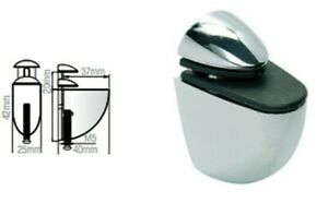 Adjustable Chrome Shelf Bracket Glass Shelf Support 3-20mm thickness Shelves