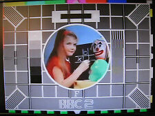 BBC2 Test Card F DVD with music excellent quality Approx 18 mins/retro tv